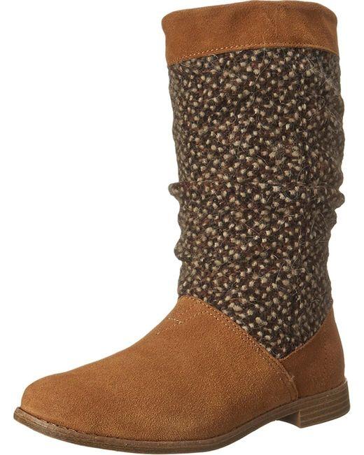 TOMS | Brown Serra Boot | Lyst