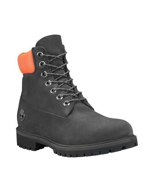 989040eac2f17 Lyst - Timberland Icon 6' Premium Waterproof Boot in Black for Men ...