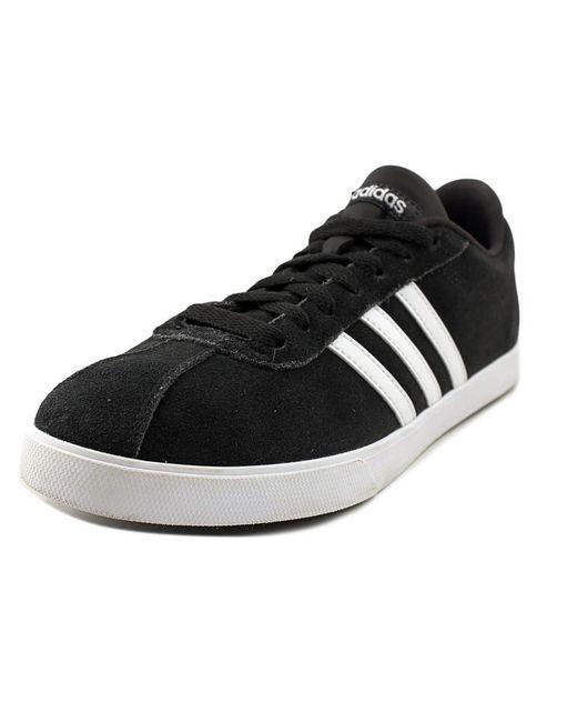 Lyst adidas courtset scarpe scarpe in nero per gli uomini.