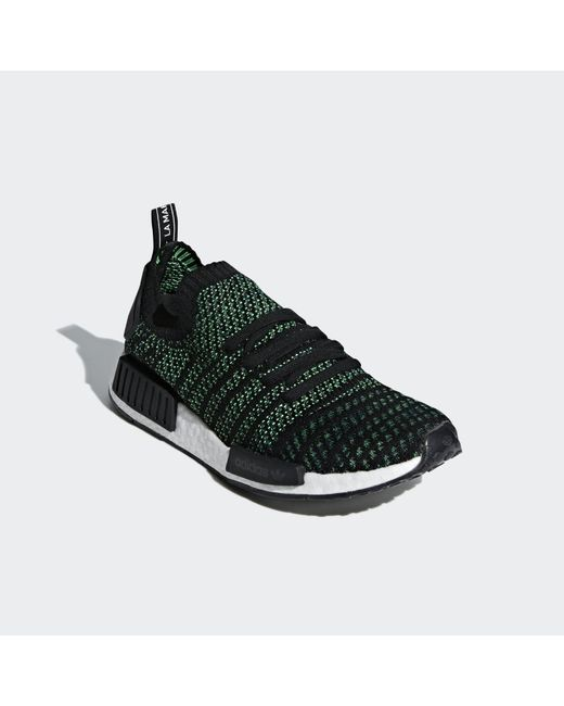 604ae85e8 Lyst - adidas Nmd r1 Stlt Primeknit Shoes in Black for Men - Save 16%