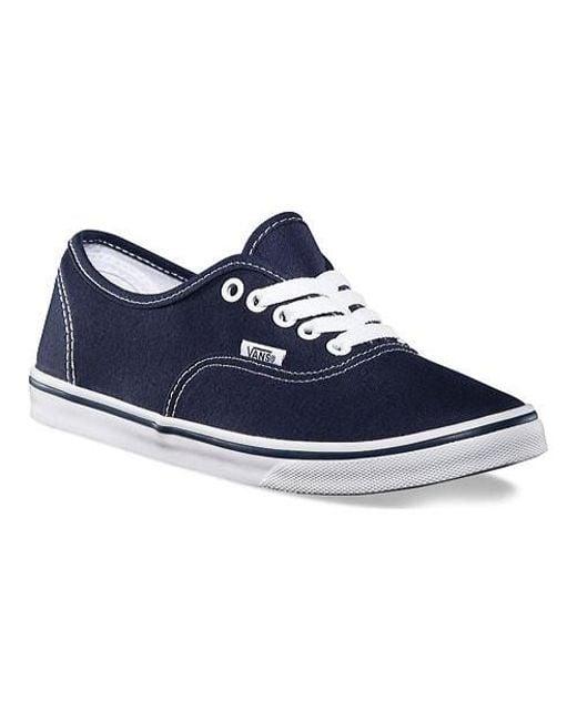 Vans - Blue Unisex Authentic Lo Pro Sneaker for Men - Lyst