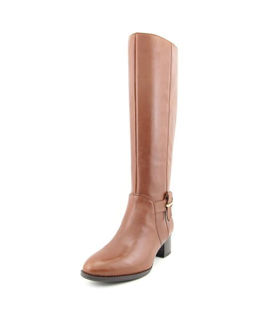 Nine West - Villiger Women Us 8 Brown Knee High Boot - Lyst