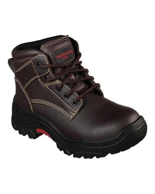 Skechers Relaxed Fit Morson Sinatro Hiking Boot(Men's) -Black Really For Sale ARKCTB4V
