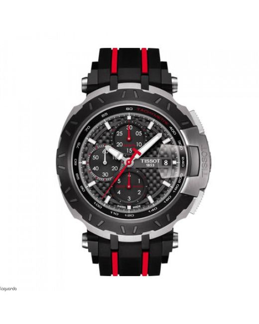 Tissot - Black T092.427.27.201.00 T-race Watch 45mm Stainless Steel for Men - Lyst