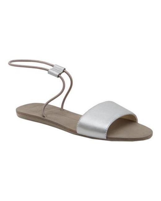 Dolce Vita - Metallic Dara Ankle Strap Sandal - Lyst