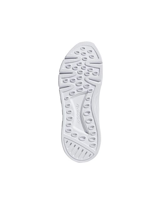 cheaper 220dc becba Adidas - White Eqt Support Mid Adv Primeknit Shoes for Men - Lyst ...