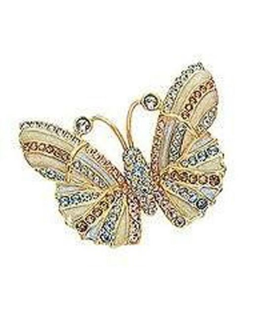 Swarovski   Multicolor 959275 Butterfly Brooch   Lyst