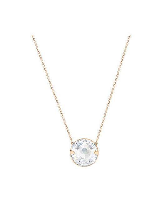 Swarovski | Blue 5278367 Globe Necklace | Lyst
