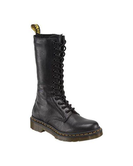 Dr. Martens | Black Unisex 1b99 14-eye Zip Boot | Lyst