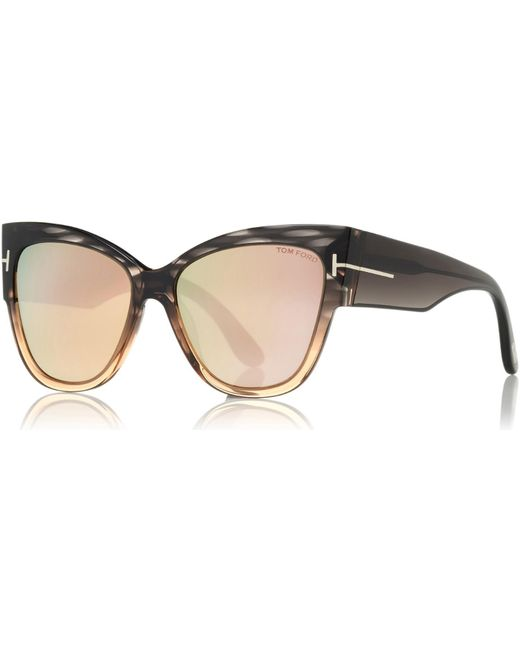 5048dbe1bed Tom Ford - Multicolor Anoushka Cat Eye Sunglasses - Lyst ...