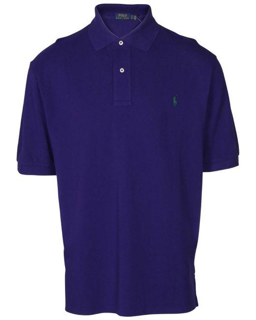Polo Ralph Lauren - Purple Big & Tall Mesh Pony Polo Shirt for Men - Lyst