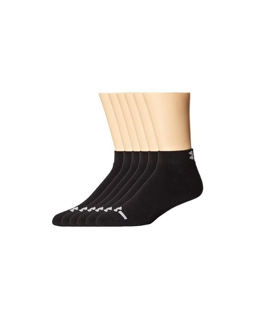 Under Armour | Black Ua Charged Cotton Lo Cut for Men | Lyst