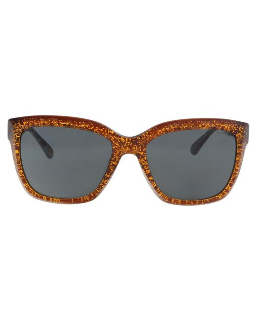 2c4ca25d1bf33 ... purchase coach brown hc8230 550487 rectangle sunglasses lyst c5698 eac0e