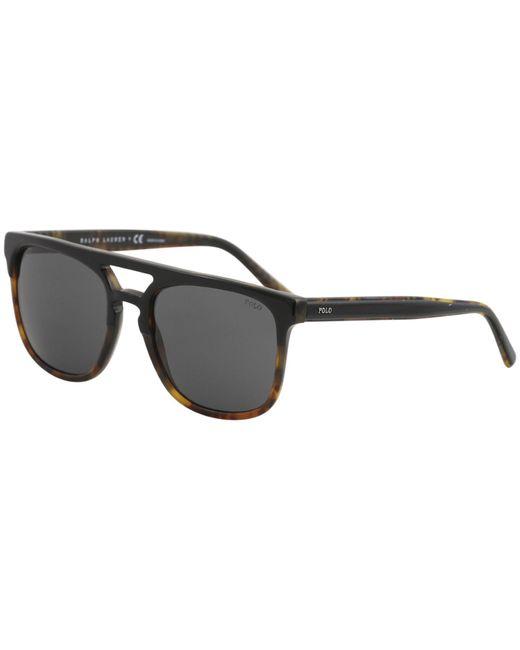 Polo Ralph Lauren - Black Ph4125 Ph/4125 5260/87 Sunglasses 54mm for Men - Lyst