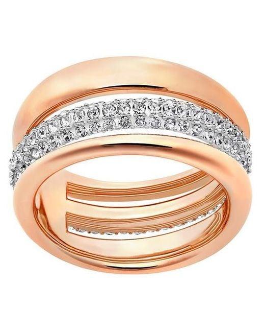 Swarovski - Metallic 5221573 Exact Ring - Lyst