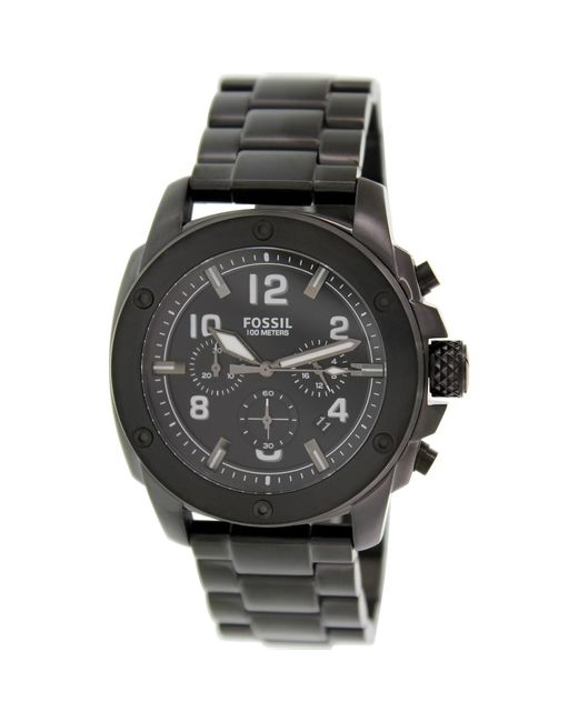 Fossil | Modern Machine Fs4927 Black Dial Watch for Men | Lyst