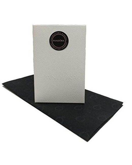 Pandora   Black Usb794321 Dainty Bow Limited Edition Bangle Bracelet Size 21   Lyst