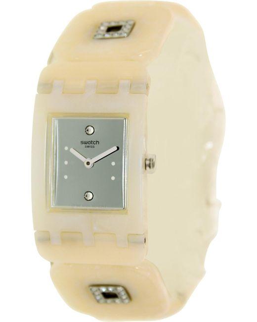 Swatch - Natural Originals Subw110b Plastic Swiss Quartz Fashion Watch - Lyst