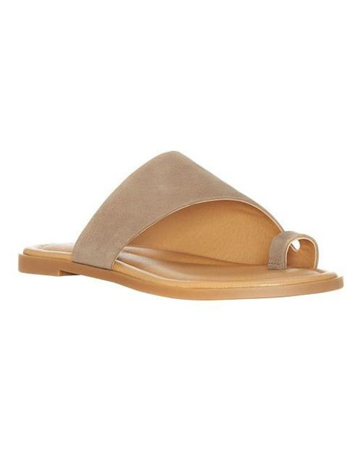Lucky Brand | Brown Anora Toe Ring Sandal | Lyst
