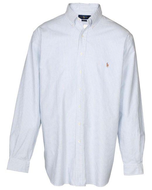 Polo Ralph Lauren - White Big & Tall Button Down Shirt--3xlt for Men - Lyst