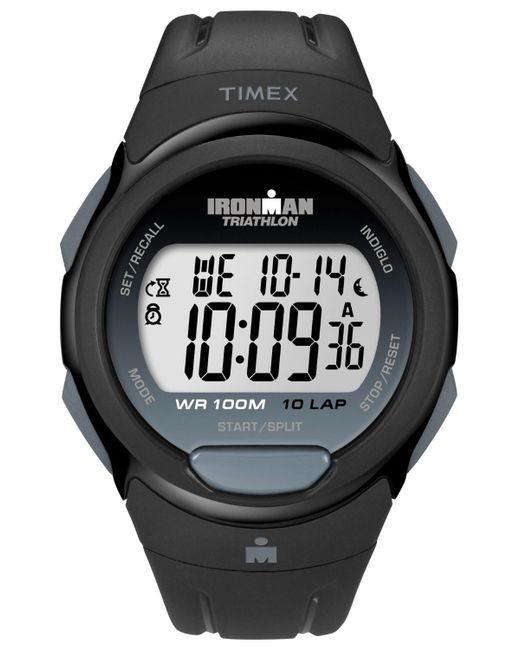 Timex - Mens Ironman T5k608 10-lap Black Watch for Men - Lyst