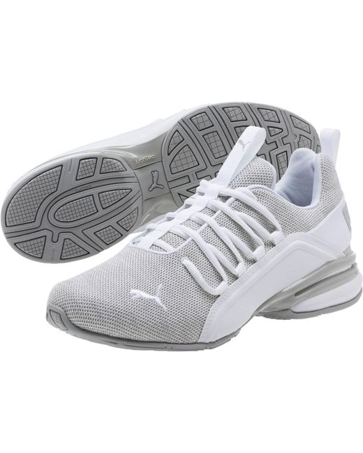 f5c891f813b Lyst - PUMA Axelion Sneakers in White for Men - Save 35%
