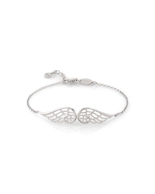 Nomination | Metallic Angel Silver Bracelet Double Wings | Lyst