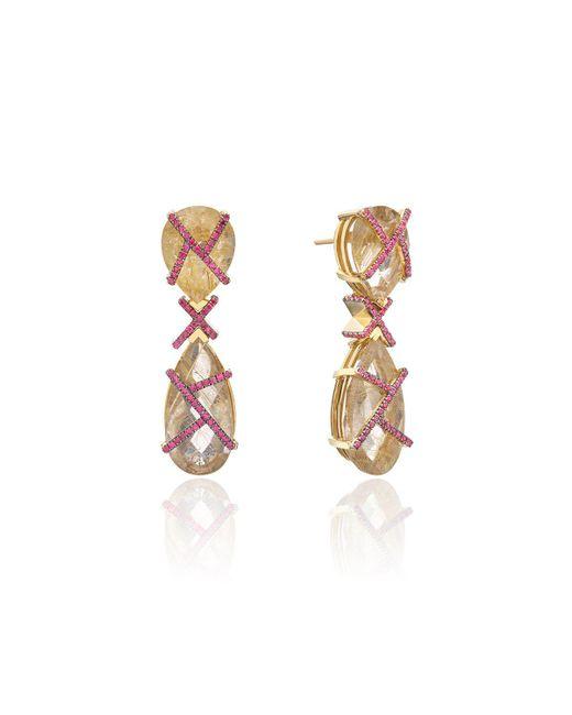 Nicofilimon | Multicolor K Earrings | Lyst