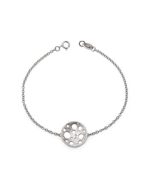Muscari Jewellery - Multicolor White Round Moon Bracelet - Lyst