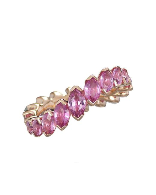 Baenteli - Marquise River Pink Sapphire Ring - Lyst