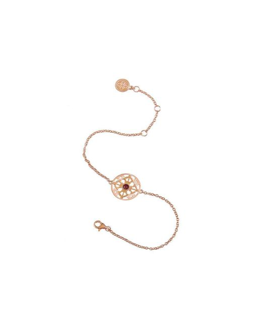 Silatha - Fine Jewellery & Meditation - Metallic The Light Of Compassion Yellow Gold Bracelet - Lyst