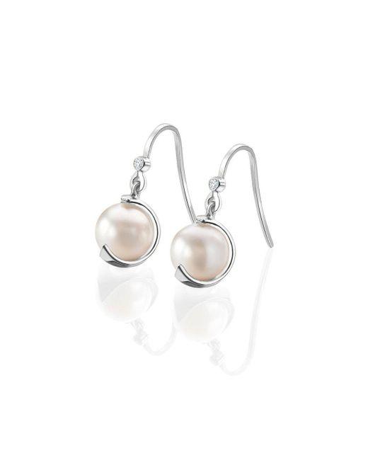 Karen Phillips - Multicolor White Gold Gatsby Earrings - Lyst