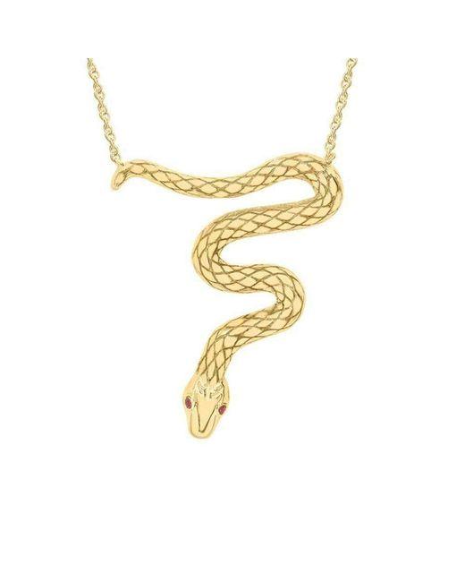 London Road Jewellery Kew Serpent Sterling Silver Pendant OZjZBmfp