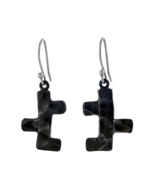 Jan D - Black Earrings - Lyst