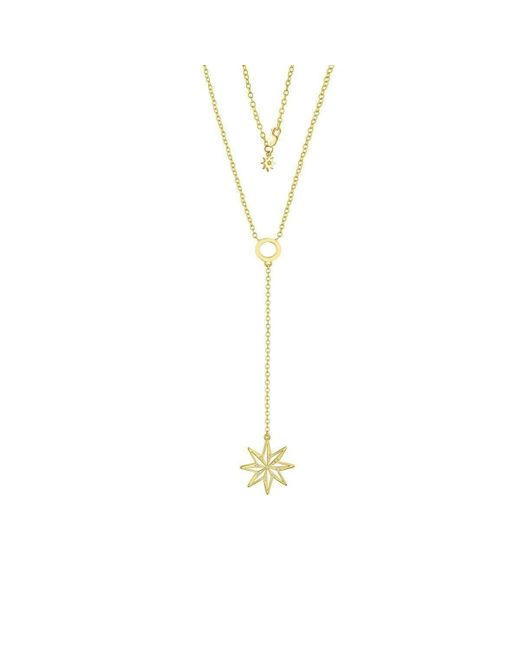 Amy Glaswand | Metallic Stella Lariat Necklace | Lyst