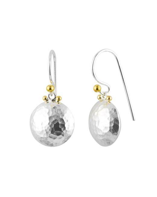 Gurhan - Metallic Lentil Drop Earrings - Lyst