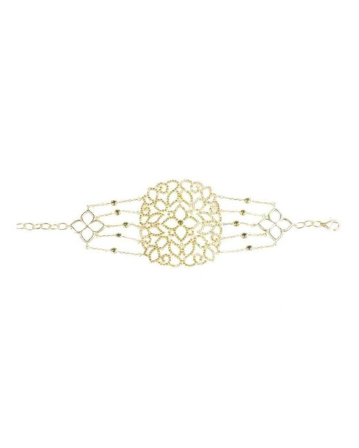 Latelita London Sterling Silver Micro pave Filigree Bracelet BMbux