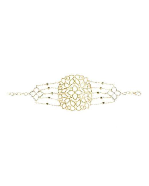 Latelita London Sterling Silver Micro pave Filigree Bracelet XxGf4