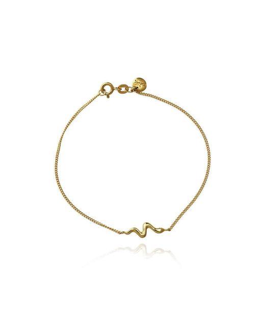 Jana Reinhardt Jewellery - Metallic Gold Plated Silver Snake Bracelet - Lyst
