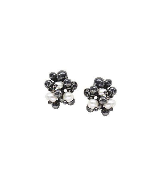 Yen Jewellery - Multicolor Blossom Stud Earrings - Lyst