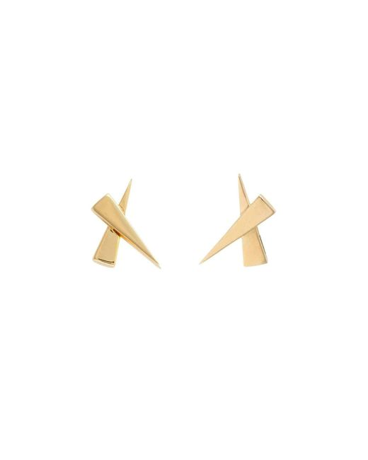 Daou Jewellery - Metallic Kisses Earrings - Lyst