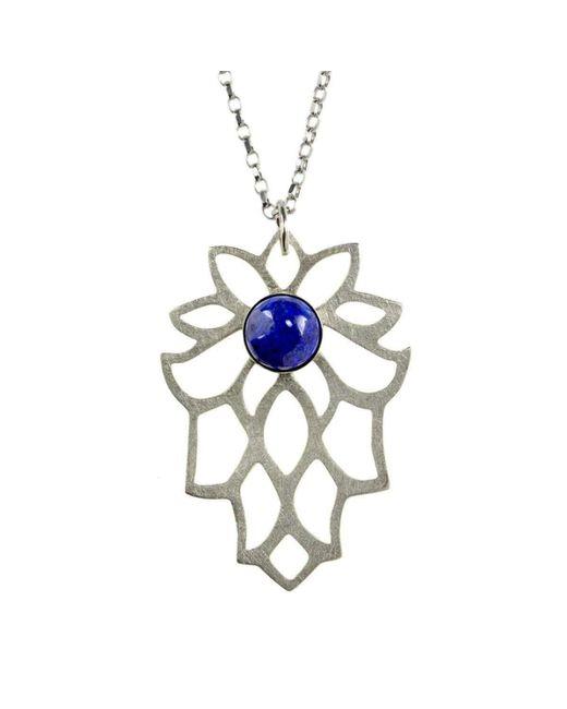 Sima Vaziry - Multicolor Bloom Lapis Necklace - Lyst