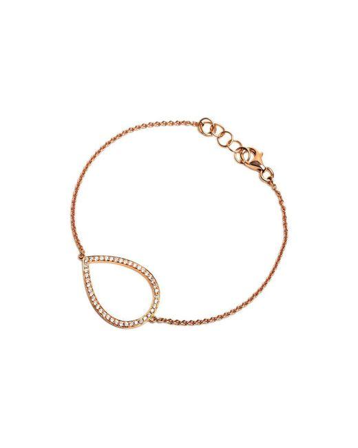 Bridget King Jewelry - Multicolor Diamond Rose Teardrop Bracelet - Lyst