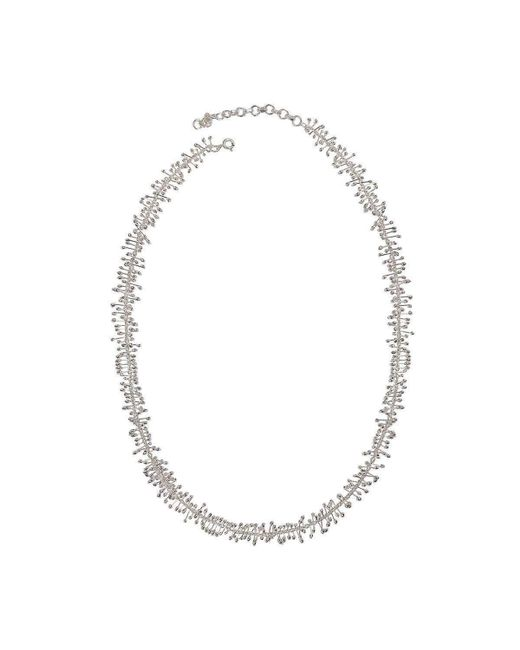 Juvi Designs | Metallic Antibes Coral Silver Necklace | Lyst