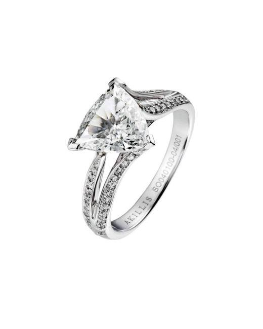 Akillis - Metallic Yes I Do Engagement Ring White Gold And Diamonds - Lyst