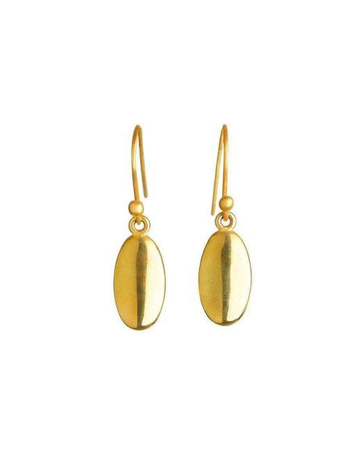 juniimjuli - Natural Gold Seed Earrings   - Lyst