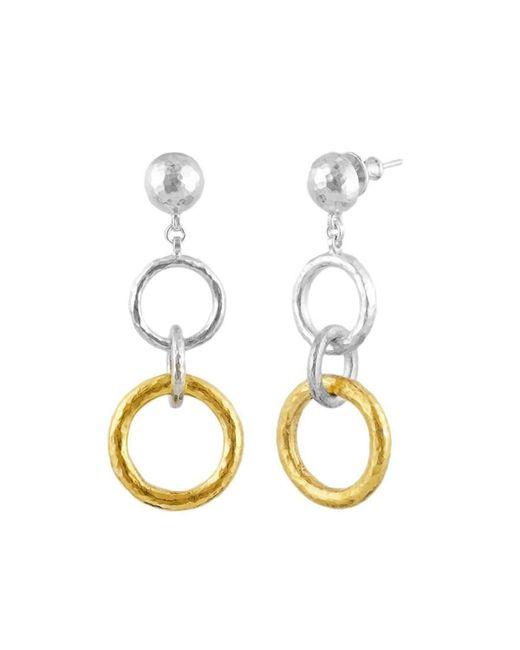 Gurhan | Metallic Double Hoopla Drop Earrings | Lyst