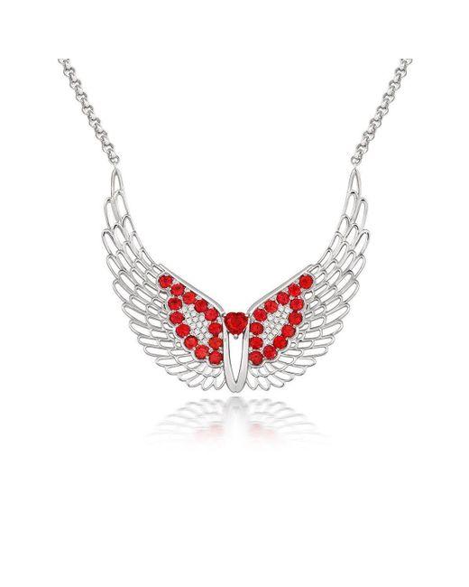 Tivon Fine Jewellery - Red Tivon Angel Heart Neckpiece - Lyst