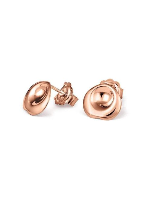 September Rose - Pink 18kt Rose Gold Confetti Earrings - Lyst