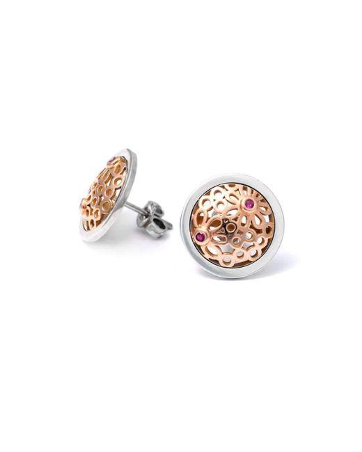 Uwe Koetter - Metallic Flowery Adornment Earrings - Lyst